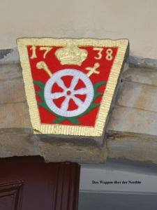 2013 Wappen über der Nordtür