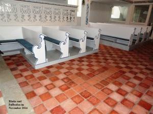 2014 Bänke und Fußboden