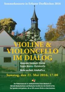 Plakat Kirche Konzert