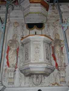 Kirche Salomonsborn Kanzel